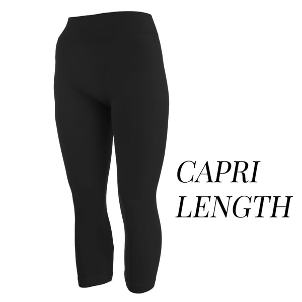 Ladies Capri Leggings (Click for additional patterns)