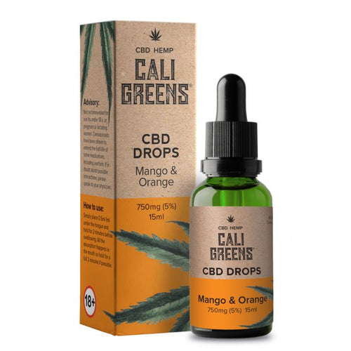 Cali Greens CBD Oils 15ml - 750mg - The CBD Selection
