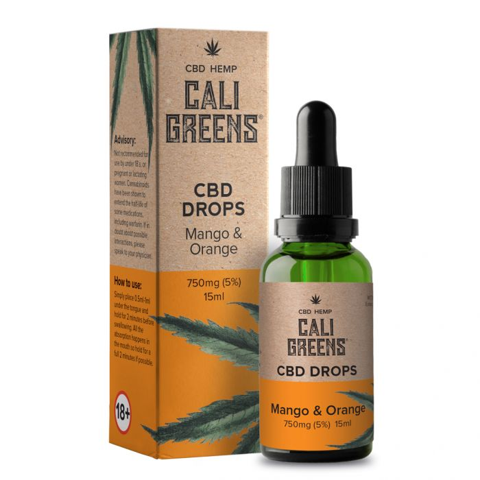 Cali Greens CBD Oils 15ml - 750mg* - The CBD Selection