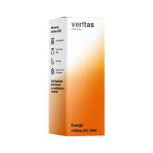 Load image into Gallery viewer, Veritas CBD Oil | Orange | 1500mg | 5% | 30ml  Full Spectrum CBD Oral Drops - The CBD Selection