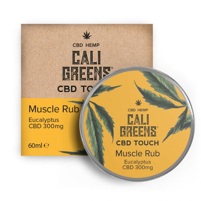 Cali Greens Muscle Rub Eucalyptus 60ml CBD Touch - 300mg* - The CBD Selection