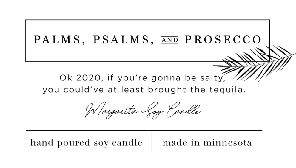 Ok 2020, if You're Gonna be Salty... | Margarita Soy Candle
