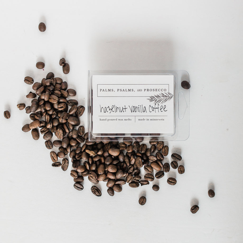Hazelnut Vanilla Coffee Wax Melts