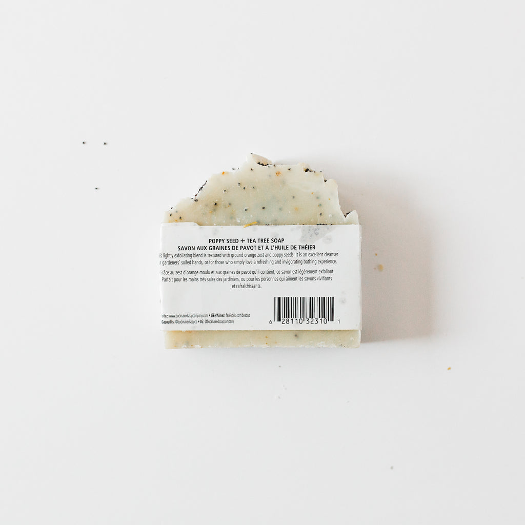 Poppy Seed & Tea Tree Bar Soap