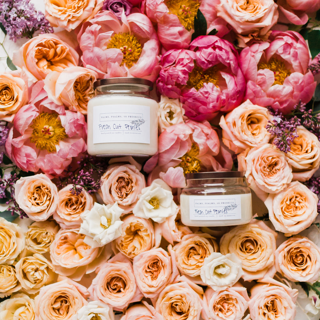 Fresh Cut Peonies Soy Candle
