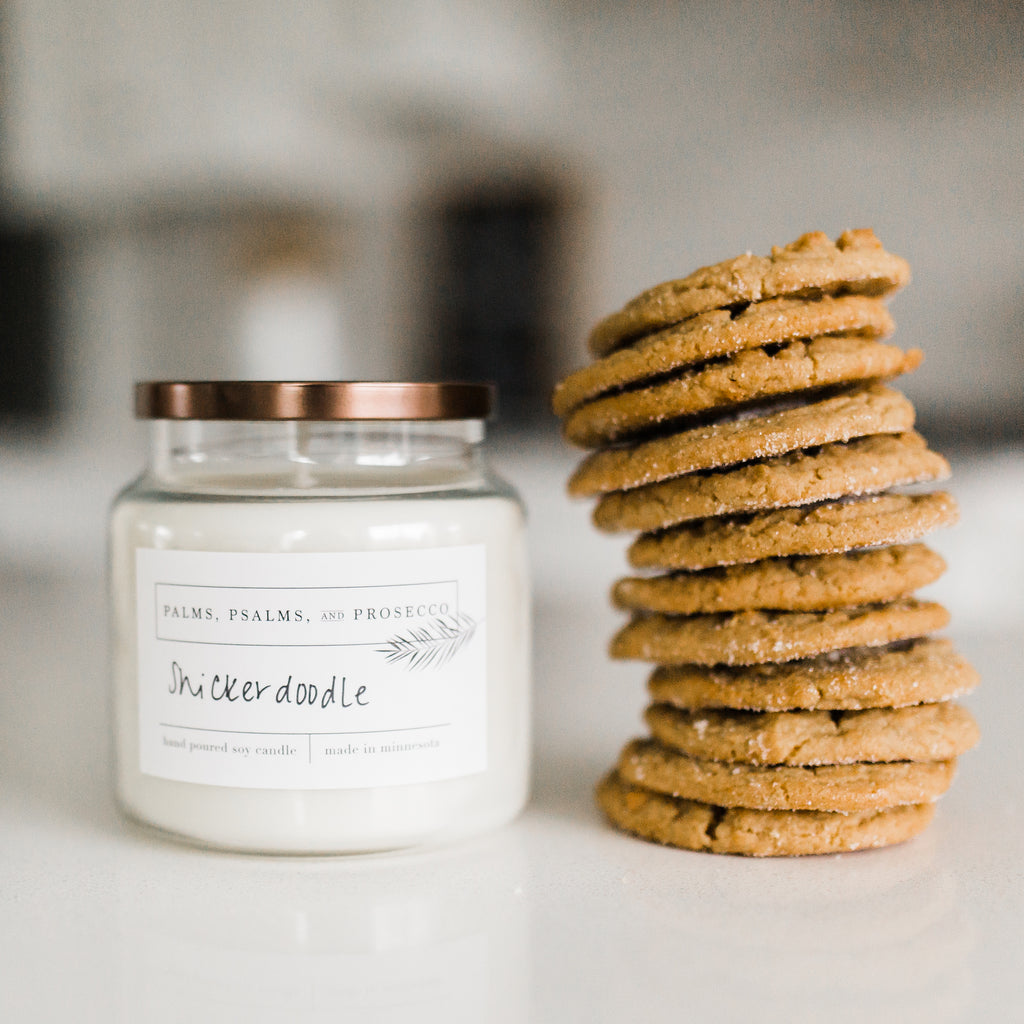 Snickerdoodle Soy Candle