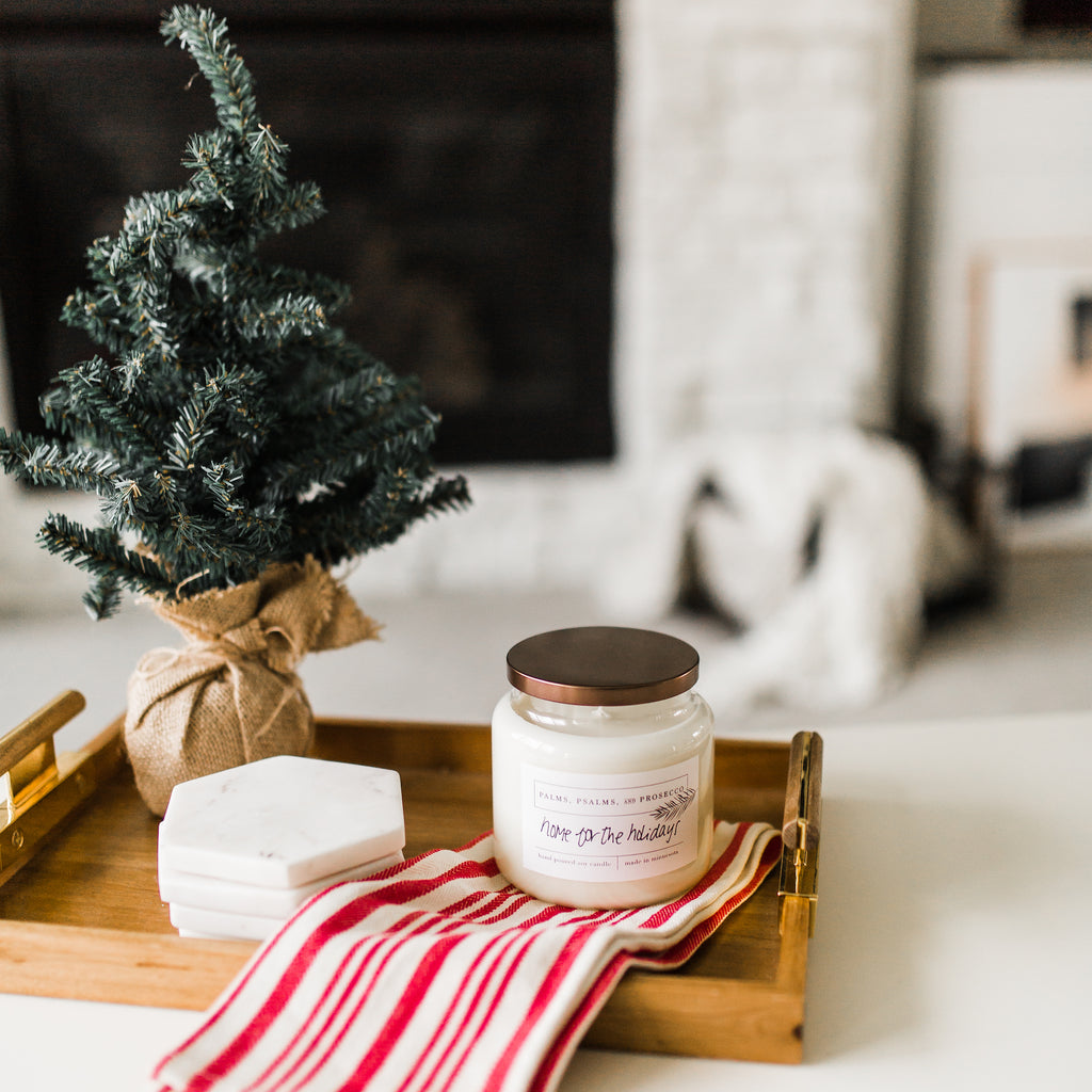 Home for the Holidays Soy Candle