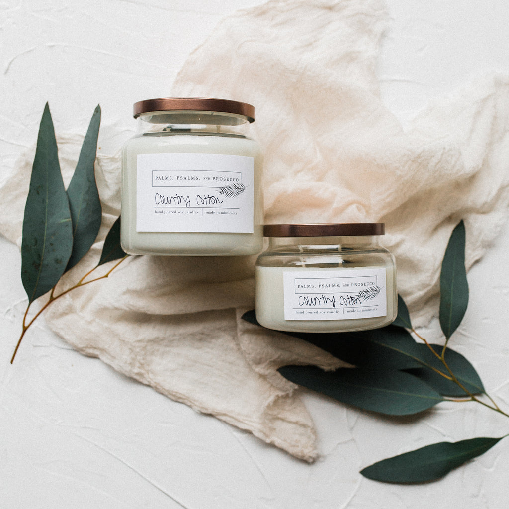 Country Cotton Soy Candle