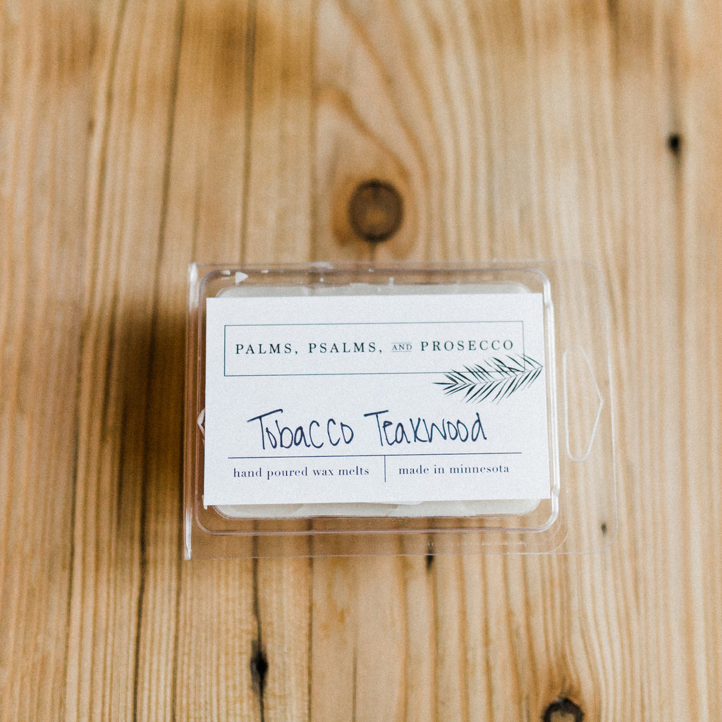 Tobacco Teakwood Wax Melts