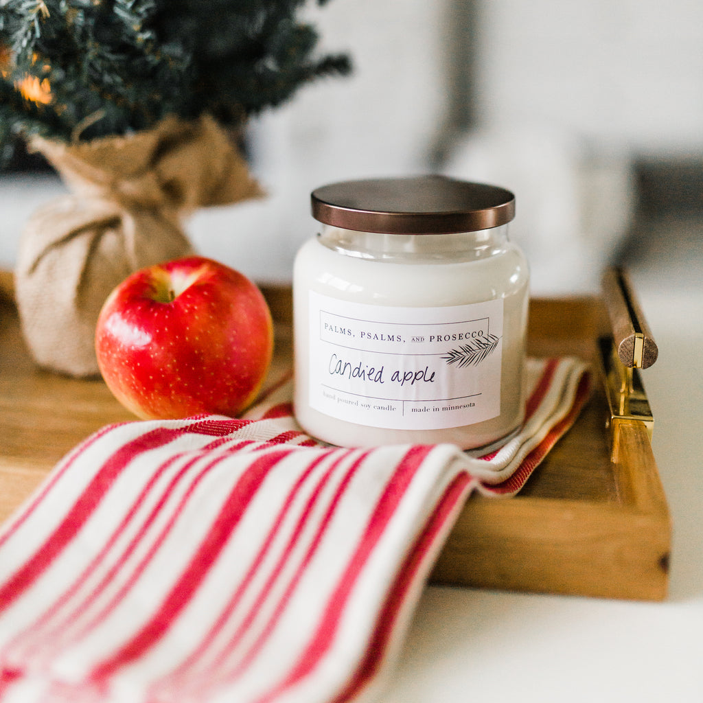 Candied Apple Soy Candle