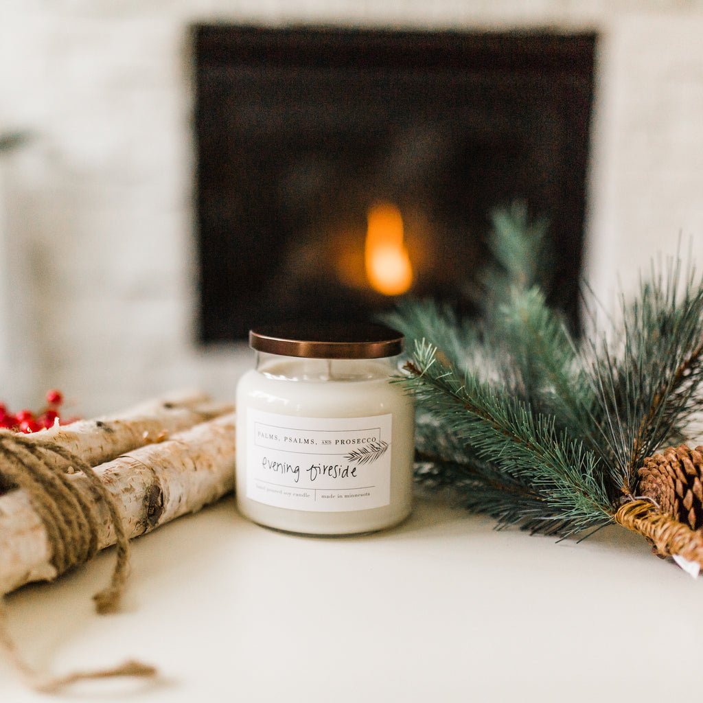 Evening Fireside Soy Candle