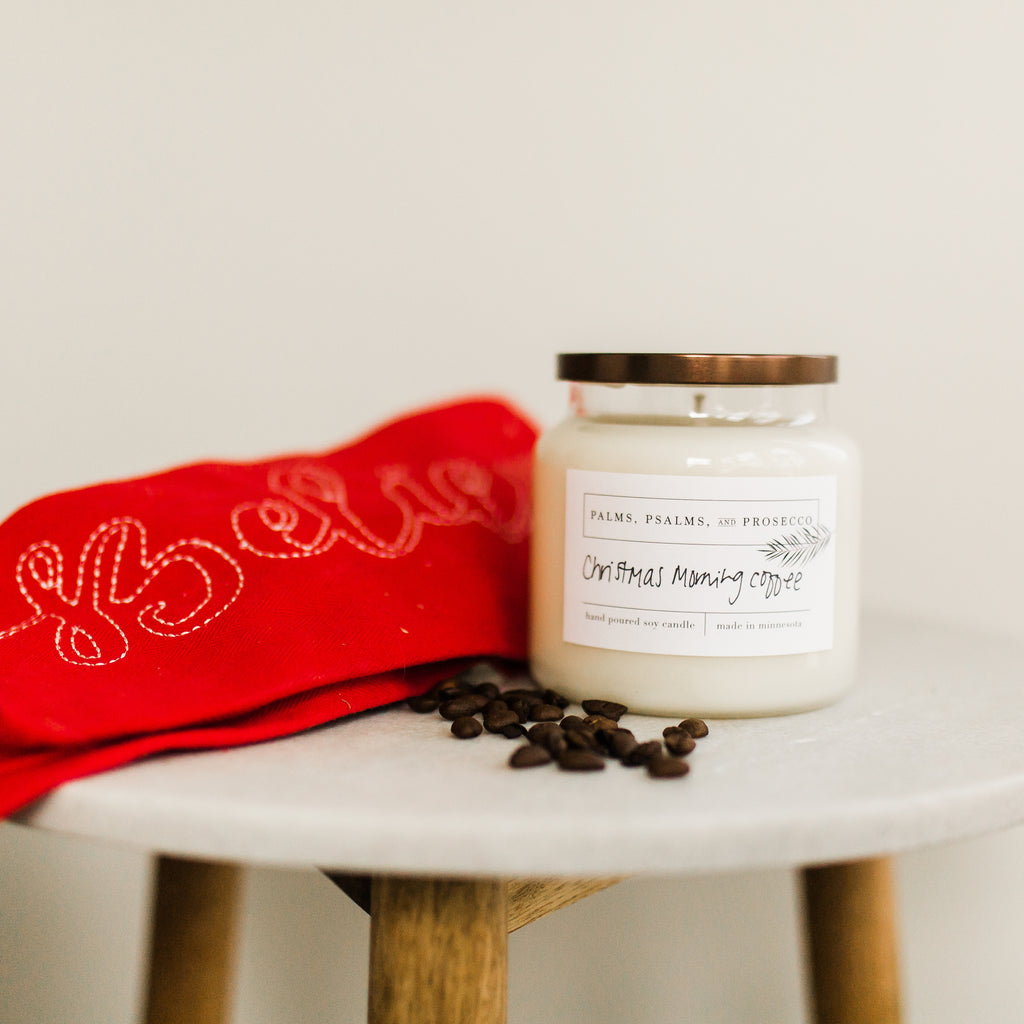 Christmas Morning Coffee Soy Candle
