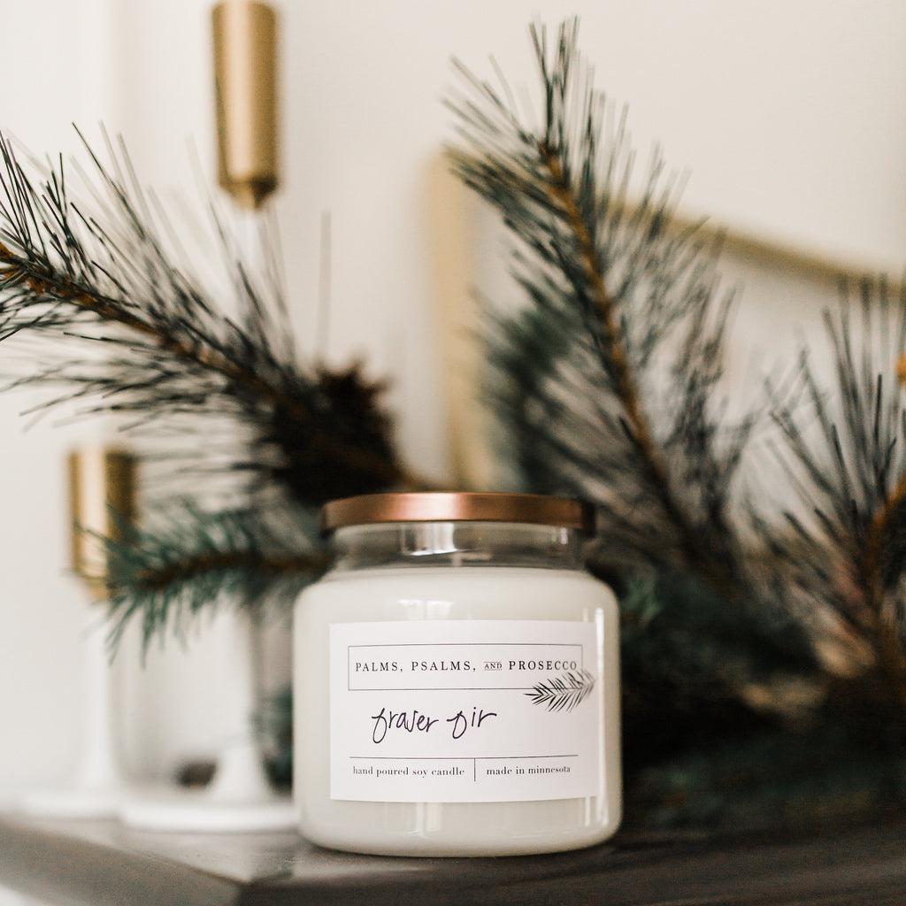 Fraser Fir Soy Candle