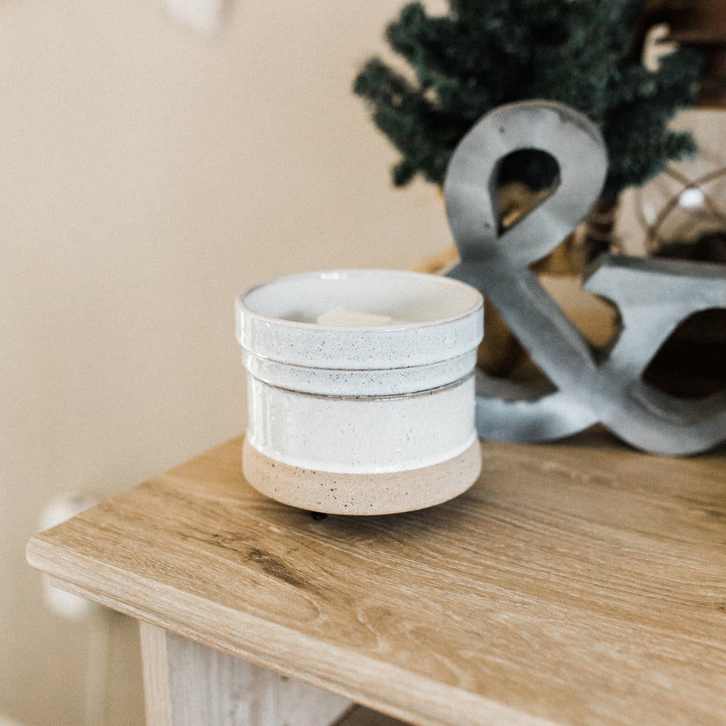 Artisan Ceramic Wax Melter & Candle Warmer