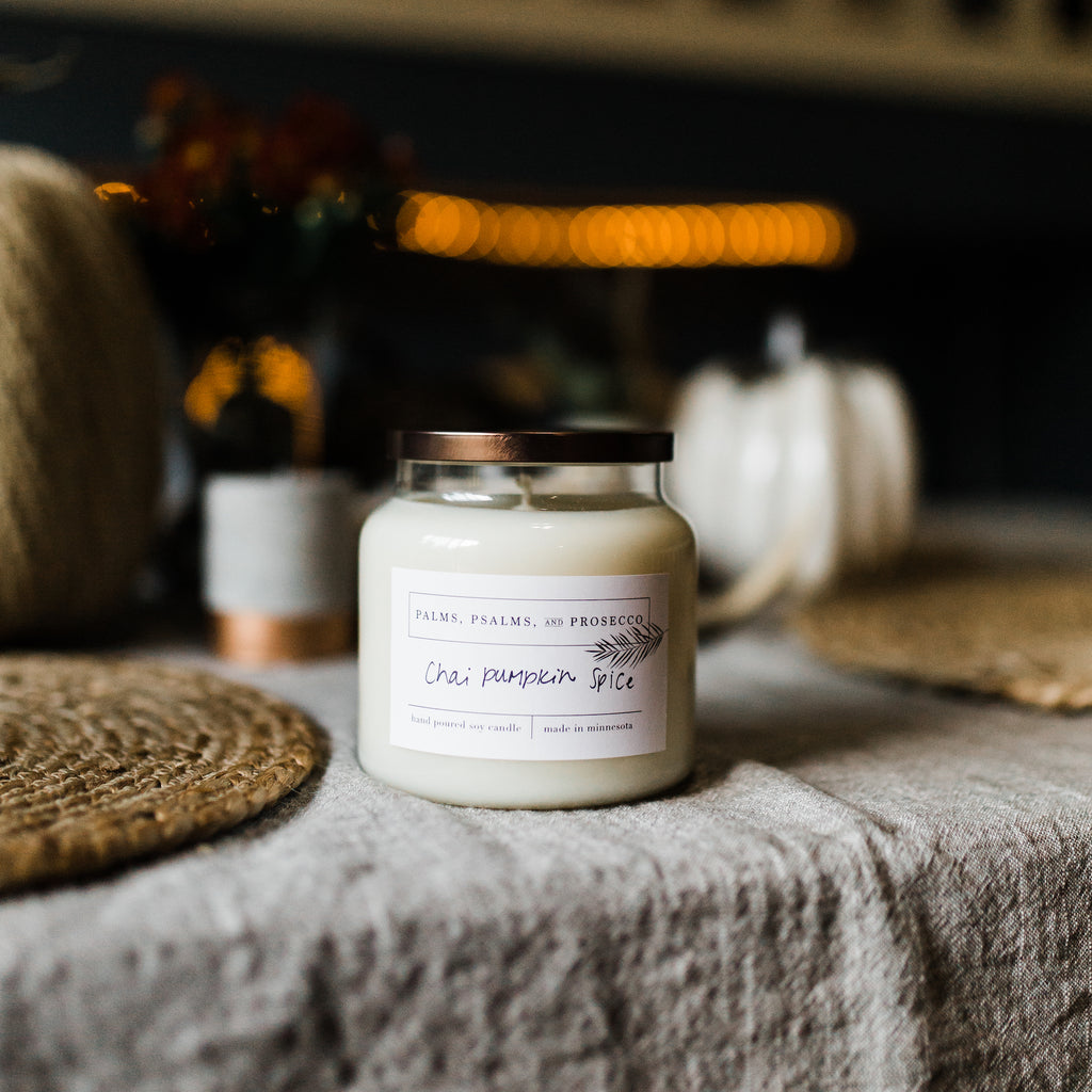 Chai Pumpkin Spice Soy Candle