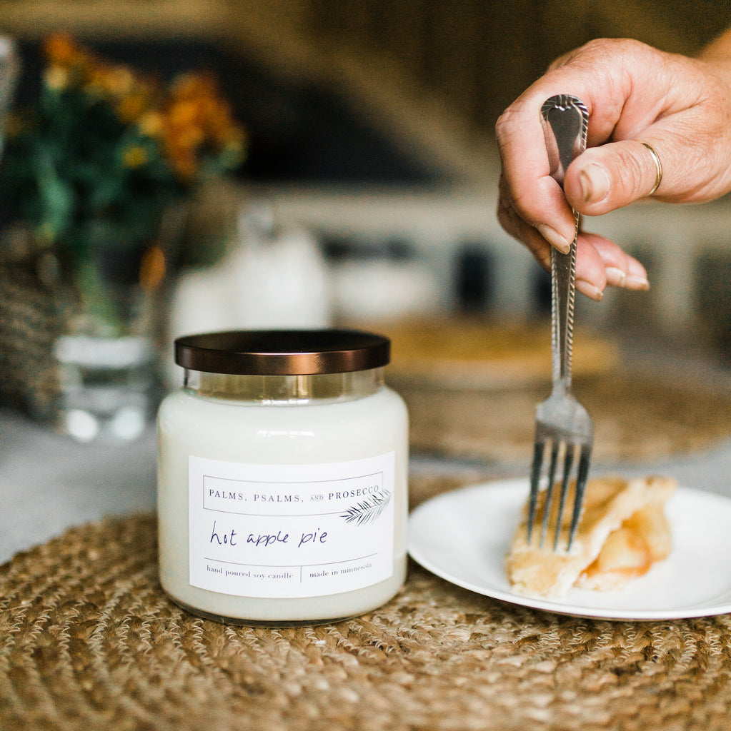 Hot Apple Pie Soy Candle
