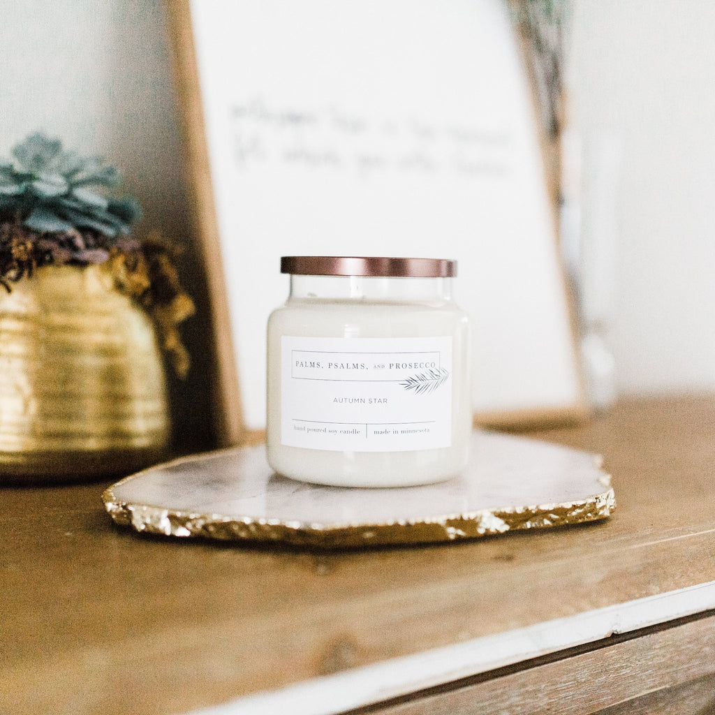 Autumn Star Soy Candle