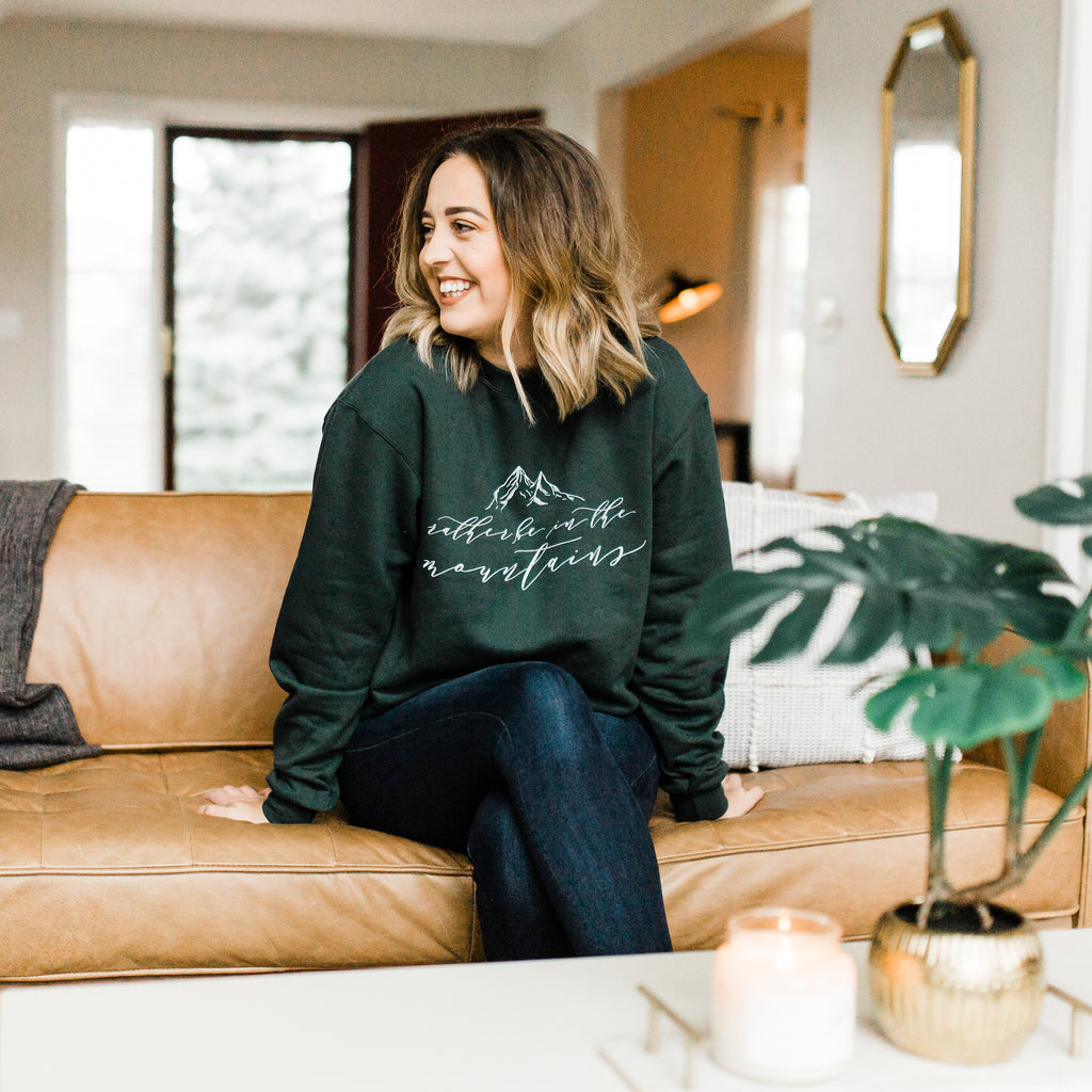 Rather be in the Mountains Sweatshirt