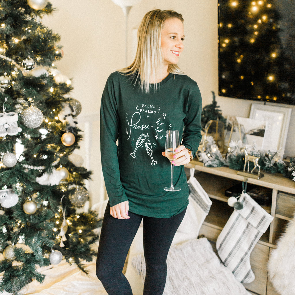 Prosec-ho-ho-ho Long Sleeve Shirt