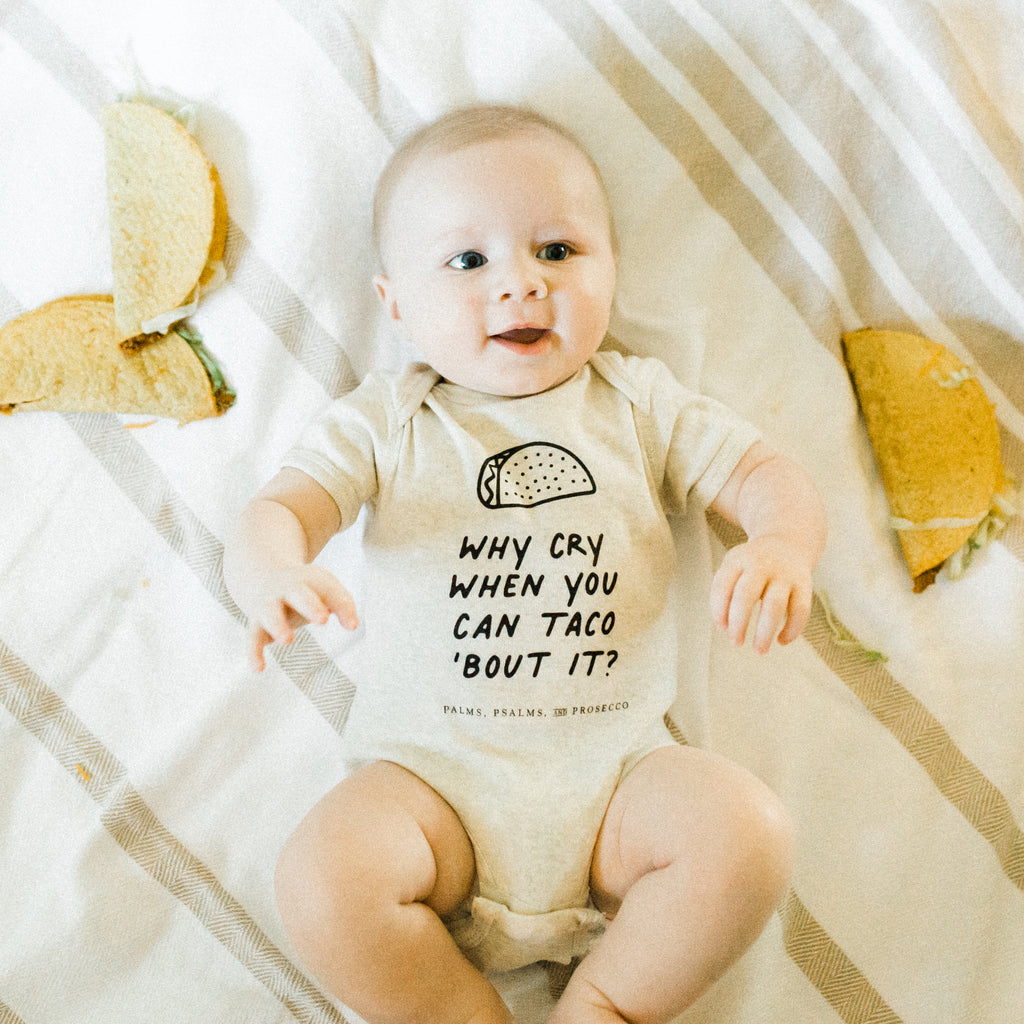 Taco 'Bout It Unisex Baby Onesie