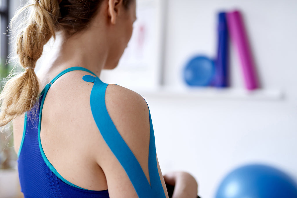 Taping Improves Blood and Fluids Circulation