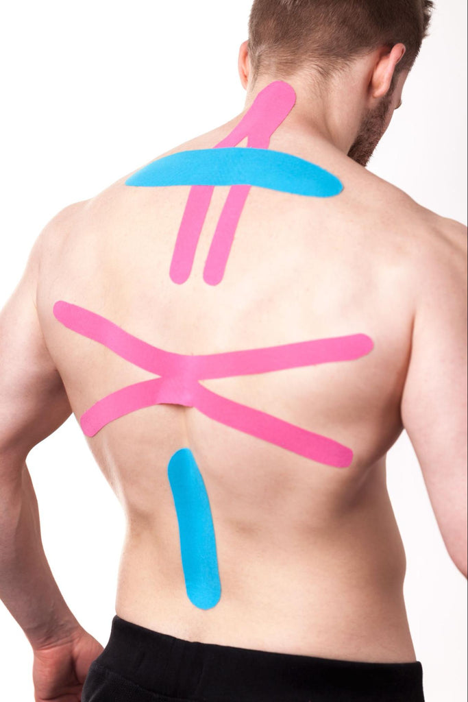 How to tape different areas of the body - full back