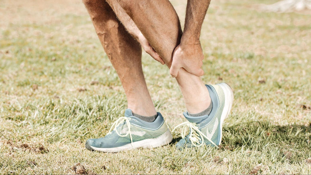 How to tape different areas of the body - ankle