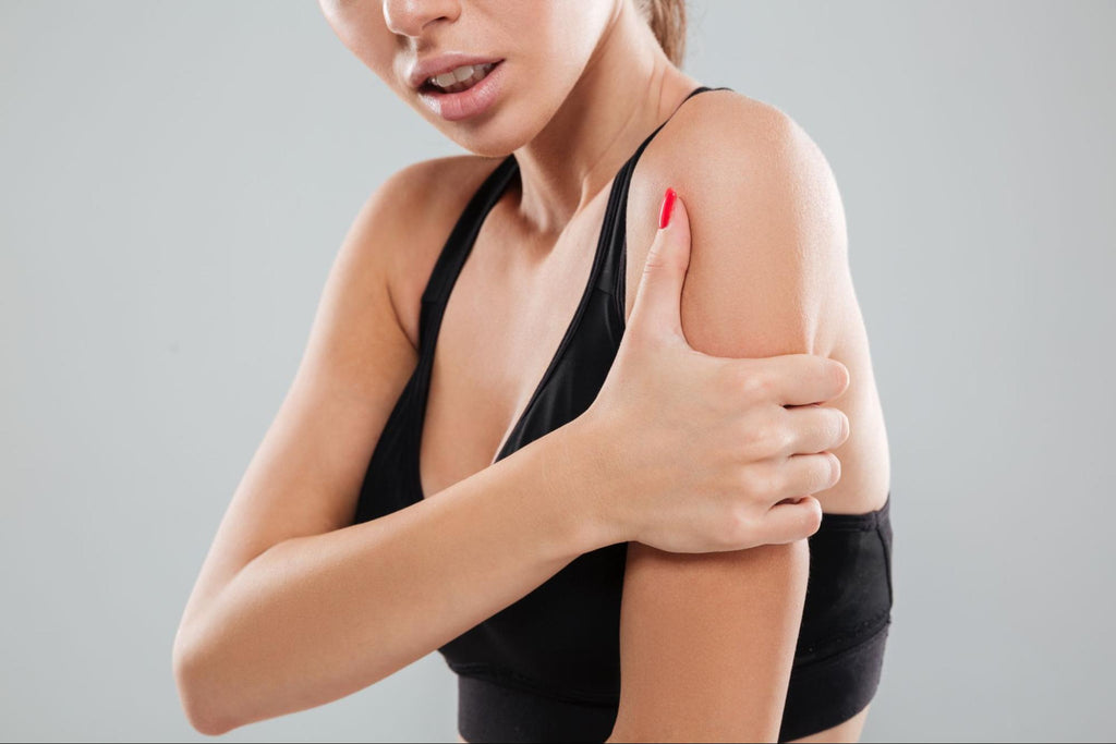 How to tape different areas of the body - shoulder