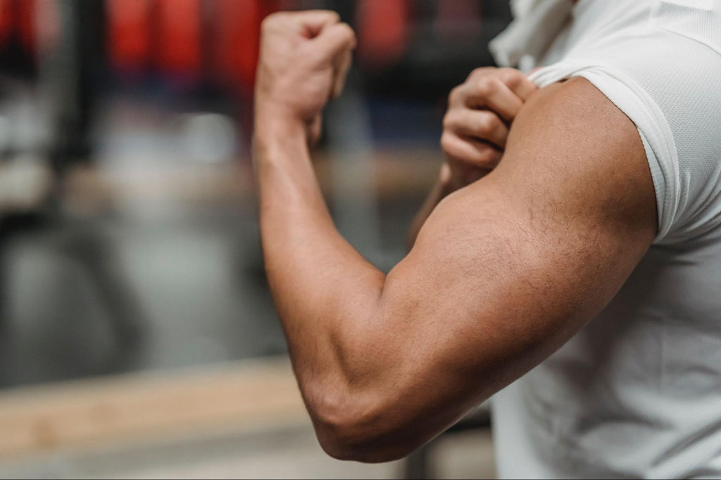 How to tape different areas of the body - bicep