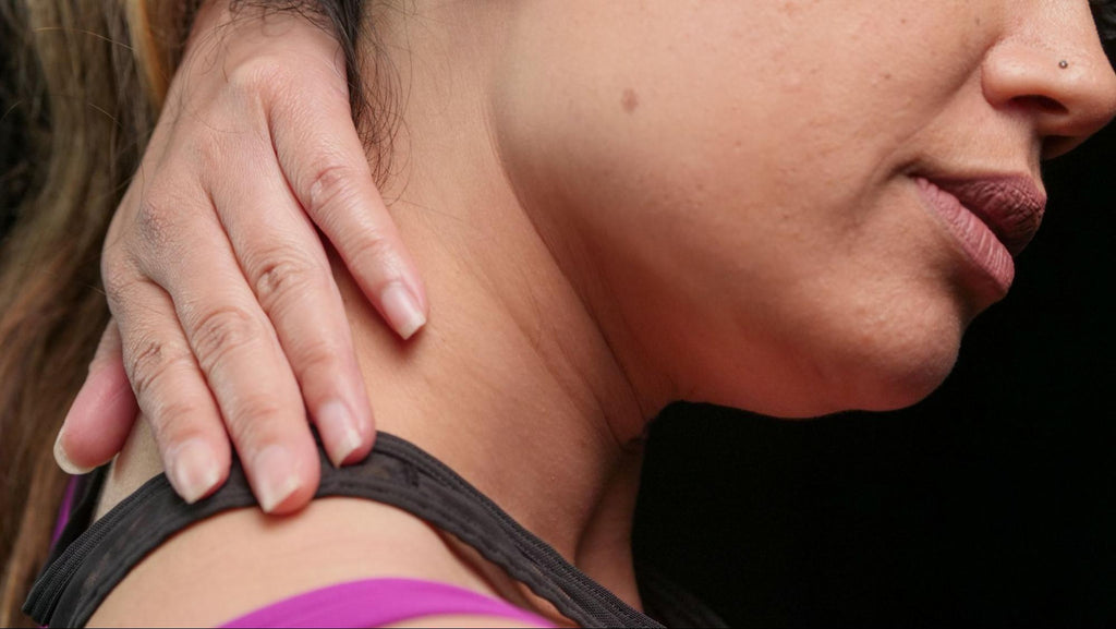 How to tape different areas of the body - bilateral neck