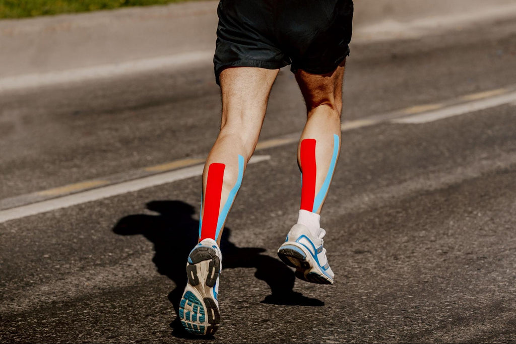 How to tape different areas of the body - calf