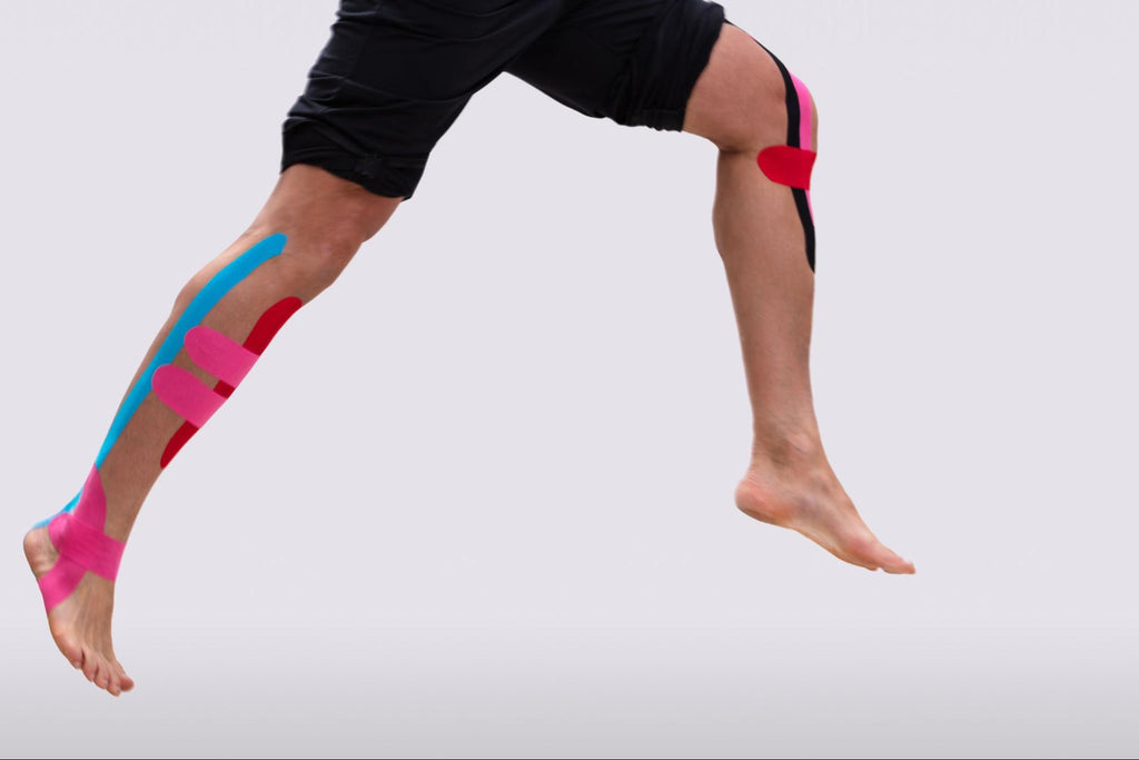 How to tape different areas of the body - Hamstring