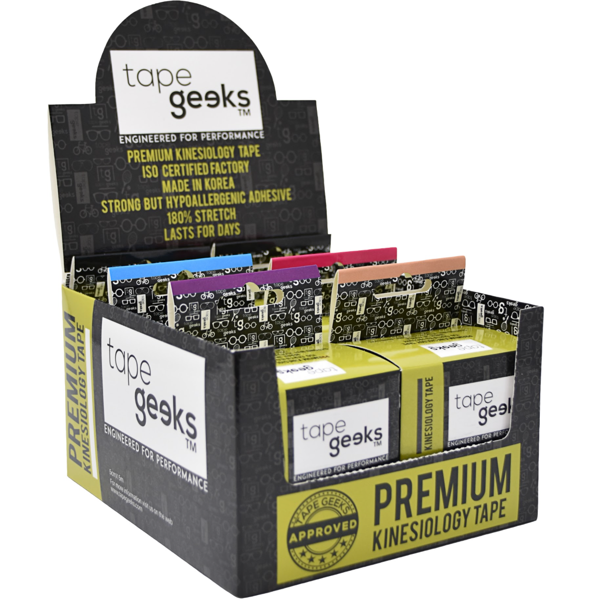 TapeGeeks 6-pack Special