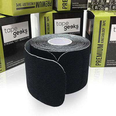 "TapeGeeks 5 cm (2"") Pre-Cut Premium  Kinesiology Tape"