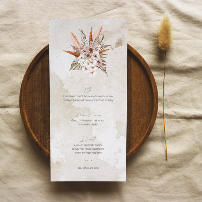 Printable DIY Menu Templates