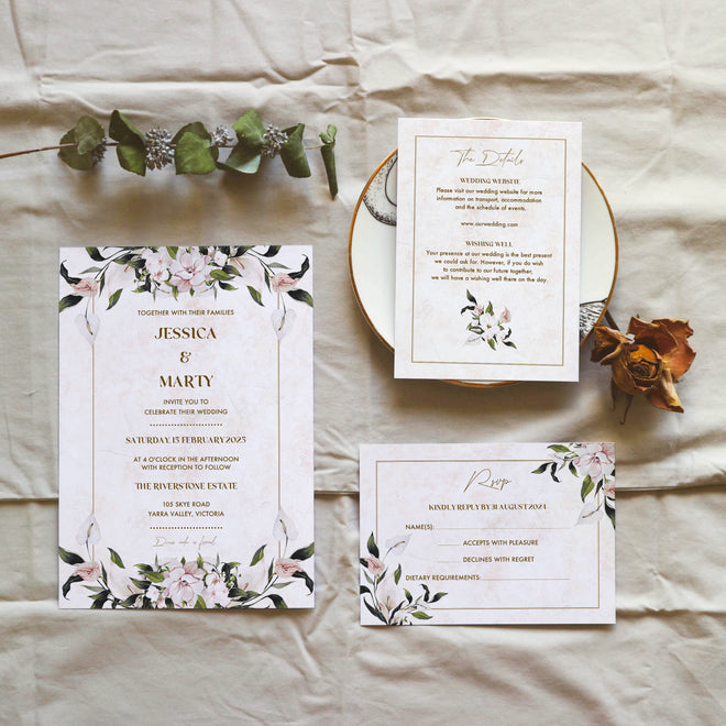 Printable DIY Wedding Invitation Templates