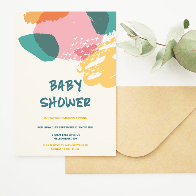 Printable DIY Baby Shower Templates