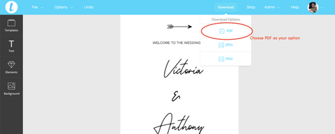 How to print your wedding or event signage online at Prints of Love | The Hello Bureau