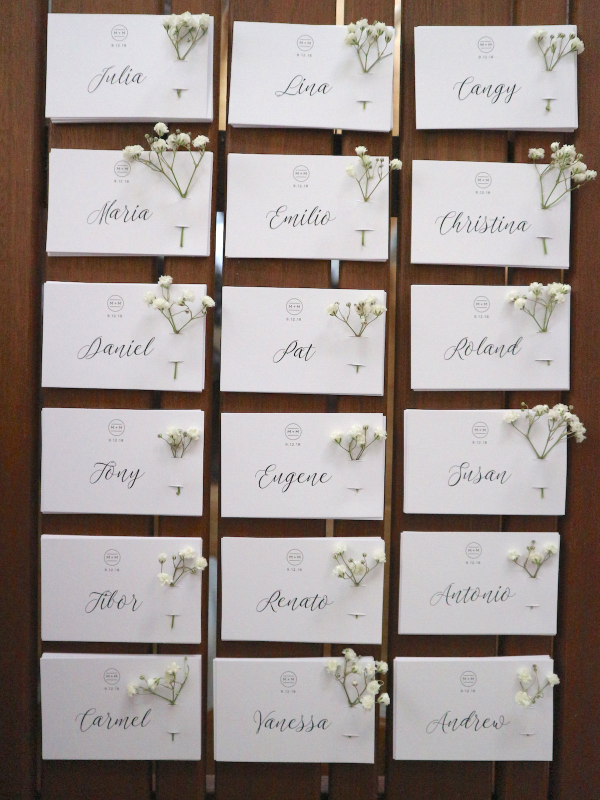 The Hello Bureau_DIY Flower Place Cards