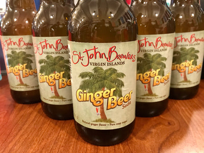 Ginger Beer Soda