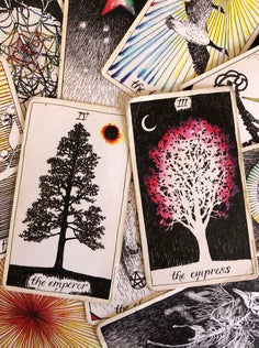 The cards of the wild unknown tarot deck