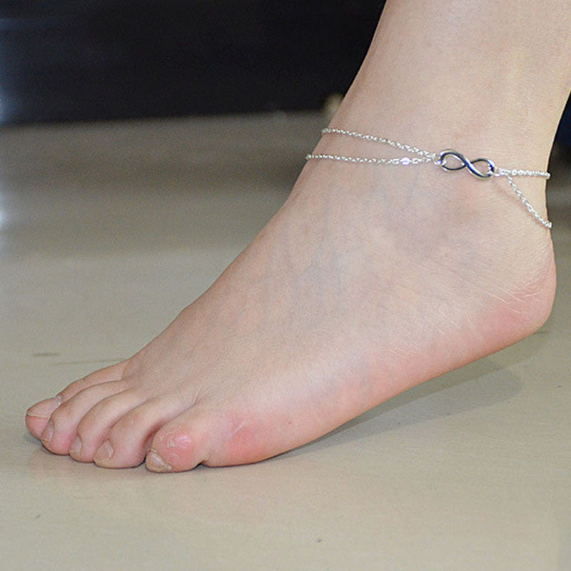 Fashion Women Beach Barefoot Foot Jewelry Anklet Chain