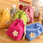 Velvet Drawstring Pouches Coin Jewelry Wedding Gift Bag Jewelry Bag