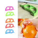 1PC Plastic Orange Peelers Lemon Slicer Zesters Grapefruit Fruit