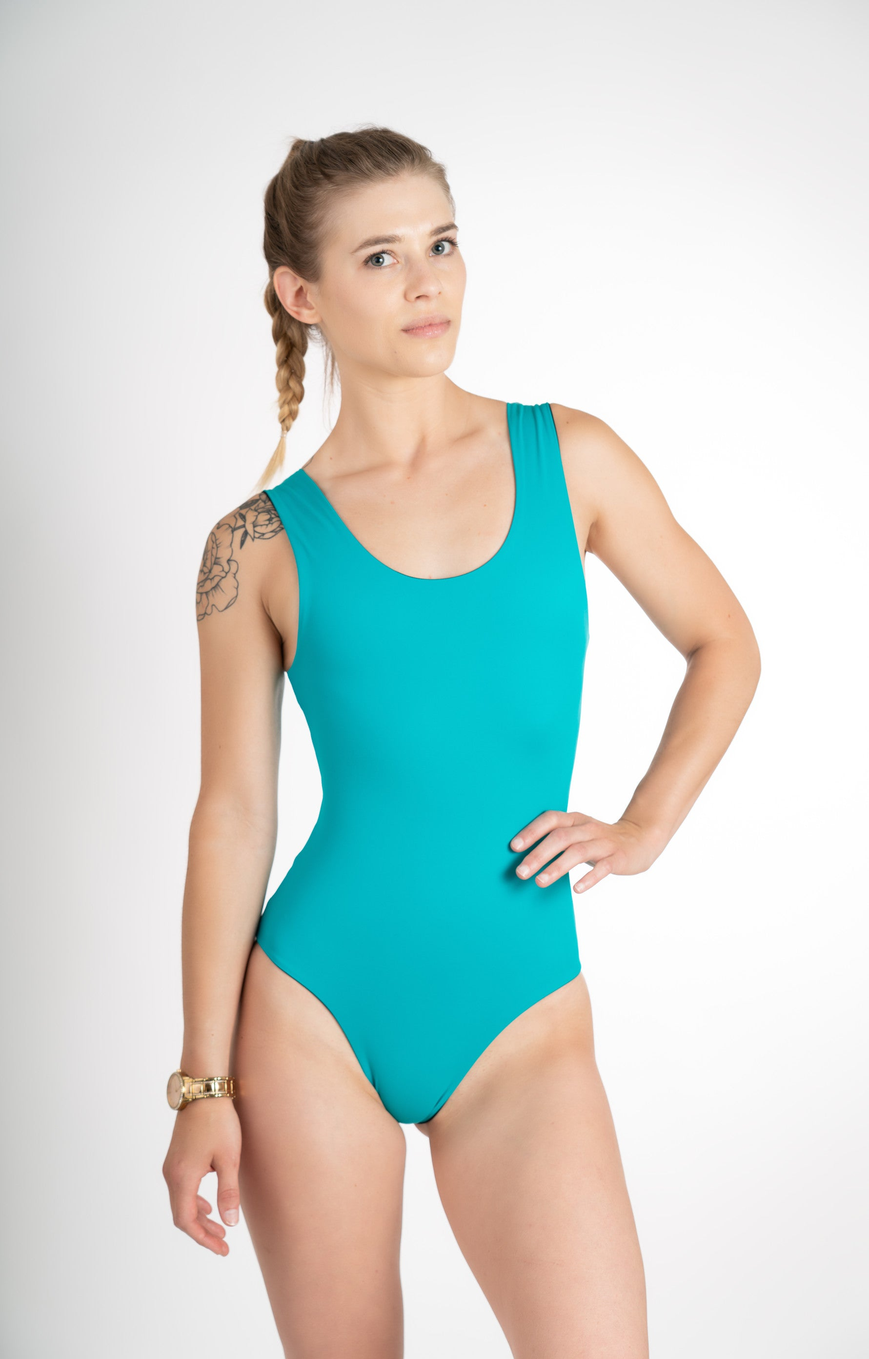 classic handmade sustainable one piece bathing suit