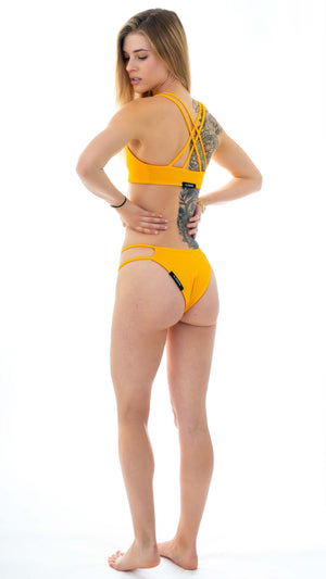 eco friendly mustard bikini