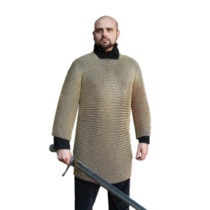 Plated Brass Mail Armor Shirt