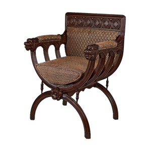 San Lorenzo Renaissance Cross-Frame Chair