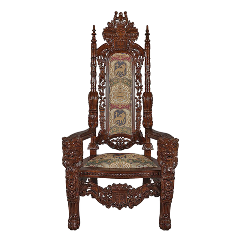 The Lord Raffles Lion Throne Chair