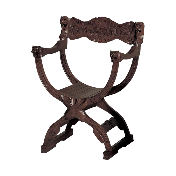 Medieval Cross Frame Chair